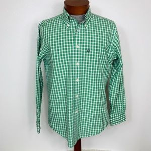 BROOKS BROTHERS 346 SLIM FIT LONG SLEEVE GREEN